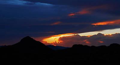Photograph - Salero Sunset 11 by Tom Daniel