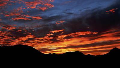 Photograph - Salero Sunset 13 by Tom Daniel