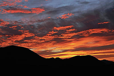 Photograph - Salero Sunset 15 by Tom Daniel