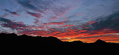 Photograph - Salero Sunset 17 by Tom Daniel