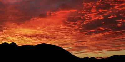 Photograph - Salero Sunset 2 by Tom Daniel