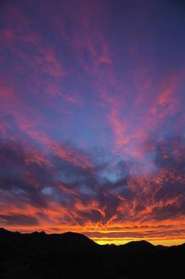 Photograph - Salero Sunset 24v by Tom Daniel