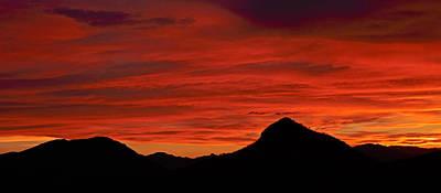 Photograph - Salero Sunset 7 by Tom Daniel