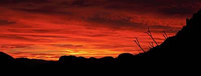 Photograph - Salero Sunset 8 by Tom Daniel