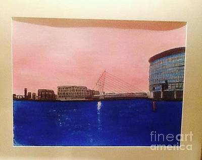 Painting - Salford Quays by Audrey Pollitt