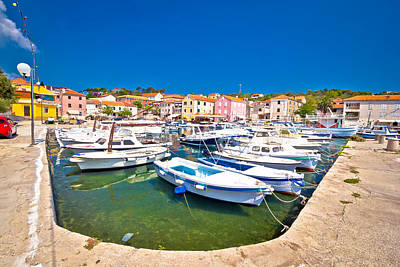 Photograph - Sali Harbor On Dugi Otok Island by Brch Photography