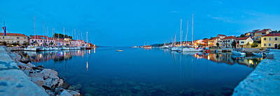Photograph - Sali Village Bay Panoramic Evening View by Brch Photography