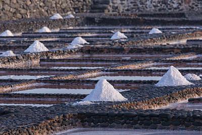 Sea Salt Photograph - Salinas Del Carmen - Fuerteventura by Joana Kruse