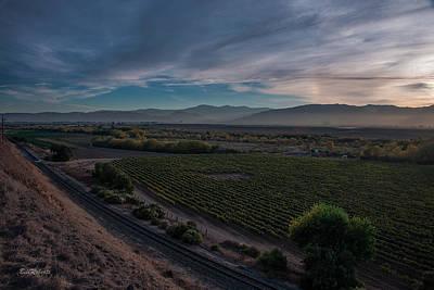 Central Coast Wall Art - Photograph - Salinas Valley Before Sundown by Bill Roberts
