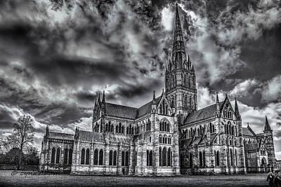 Salisbury Cathedral  Original by Cynthia  Azzam