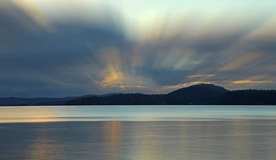 Photograph - Salish Sea Sunrise - 365-350 by Inge Riis McDonald