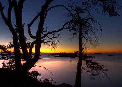 Photograph - Salish Sunrise by Randy Hall