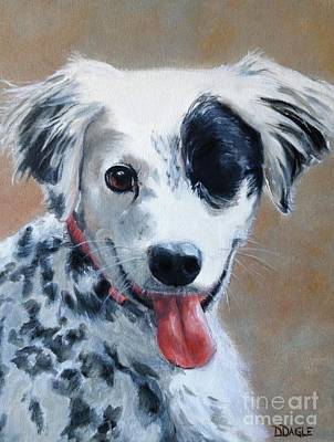 Painting - Sally by Diane Daigle