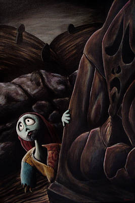 Nightmare Before Christmas Wall Art - Painting - Sally by Marlon Huynh