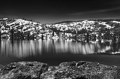 Photograph - Salmon Lake by Mick Burkey