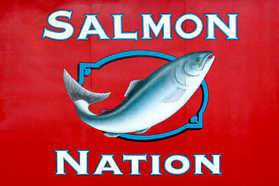 Salmon Wall Art - Photograph - Salmon Nation by Todd Klassy