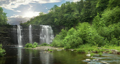 Photograph - Salmon River Falls by Lori Deiter