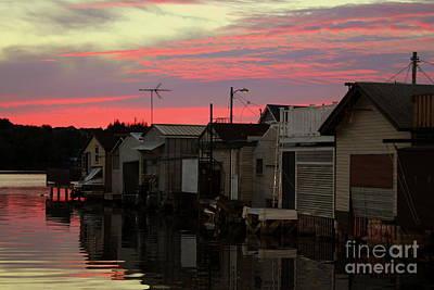 Photograph - Salmon Sky by Debra Kaye McKrill