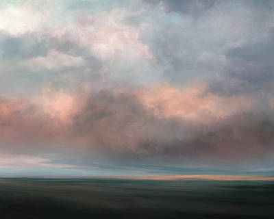 Emotion Mixed Media - Salmon Sky by Lonnie Christopher