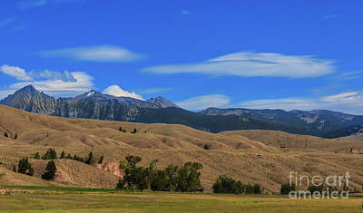 Photograph - Salmon Valley Mountains by Robert Bales