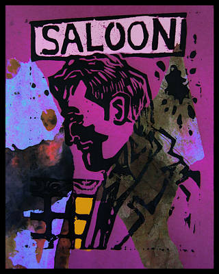 Saloon 1 Art Print by Adam Kissel
