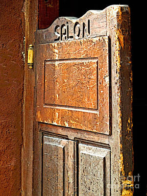 Saloon Door 3 Print by Mexicolors Art Photography