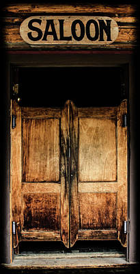 Photograph - Saloon Doors by Athena Mckinzie