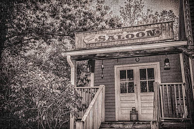 Photograph - Saloon by Pamela Williams