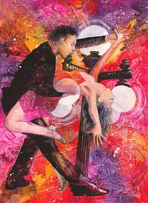 Painting - Salsa De Ybor by Sigrid Tidmore