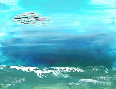 Painting - Salt Air by Corinne Carroll