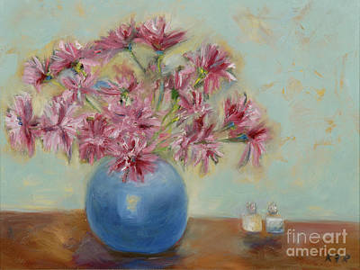 Blue Hues - Salt and Pepper I C by Karen Francis