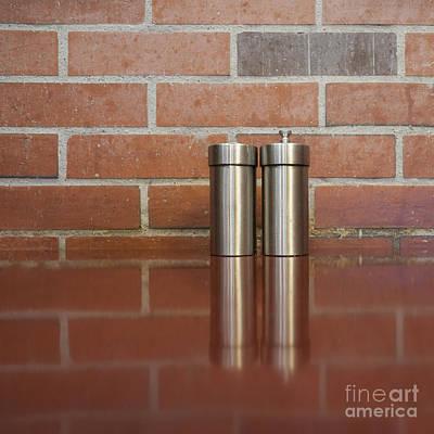 Salt And Pepper Shakers Art Print by Sam Bloomberg-rissman