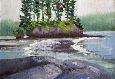 Painting - Salt Creek View by Nancy Merkle