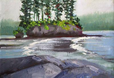 Painting - Salt Creek View by Nancy Merkle