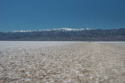 Photograph - Salt Flats At Badwater Basin by Michael Bessler