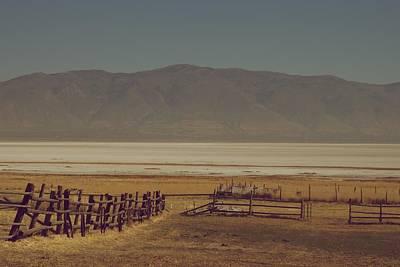 Photograph - Salt Flats  by Eric Tressler