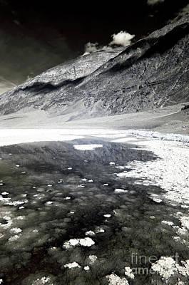 Photograph - Salt Flats In The Basin by John Rizzuto