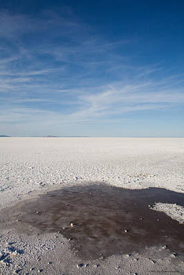 Salt Flats Art Print by Luigi Barbano BARBANO LLC