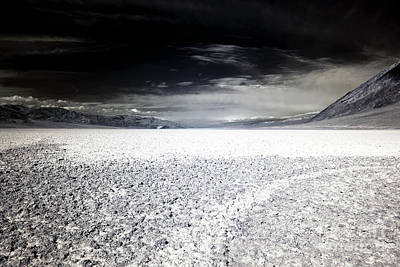 Photograph - Salt Flats Of Badwater Basin by John Rizzuto
