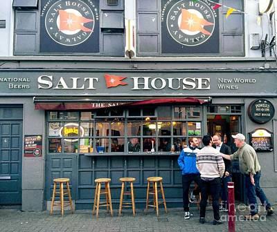 Photograph - Salt House Bar, Galway by Rosanne Licciardi