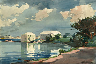 Painting - Salt Kettle Bermuda by Winslow Homer