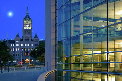 Photograph - Salt Lake City Hall And Library by Utah Images