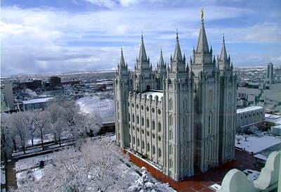 Salt Lake City Lds Temple Original