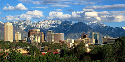 Photograph - Salt Lake City by Utah Images