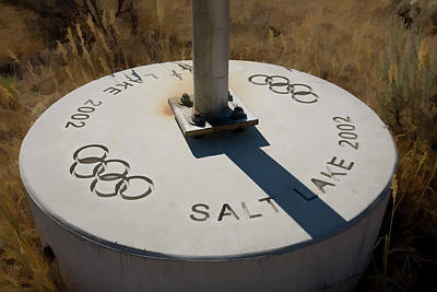 Digital Art - Salt Lake Olympics 2002 by Gary Baird