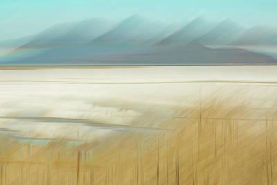 Salt Lake Salt  Art Print