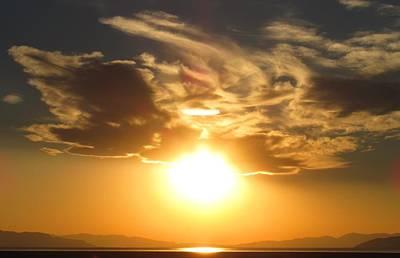 Photograph - Salt Lake Sun by Joshua Bales