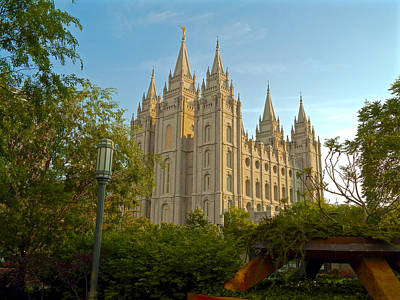 Photograph - Salt Lake Temple by Dan Miller