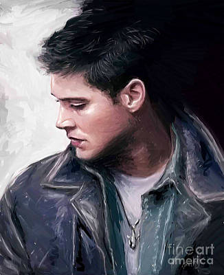 Supernatural Digital Art - Salt Life - Dean Winchester by Dori Hartley