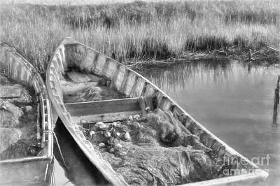 Photograph - Salt Life In Black And White by Benanne Stiens